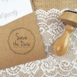 Stempel Hochzeit – Save the Date – Serie: Dots