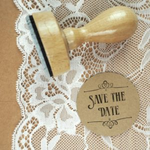 Stempel Hochzeit - Save the Date - Serie: Paperprint