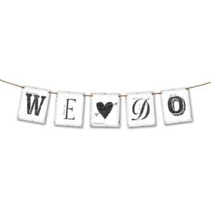 "Girlande ""We ❤ Do"" 0,7 Meter"