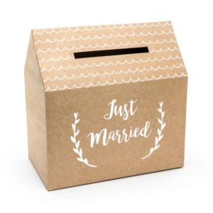 02-04-010_Kartenbox_Kraftkarton_Just_married_a