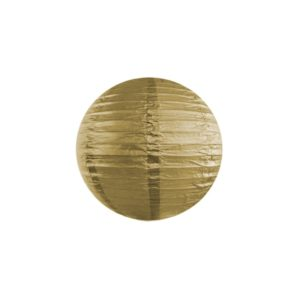 Papierlaterne · Lampion Gold · ∅ 20cm
