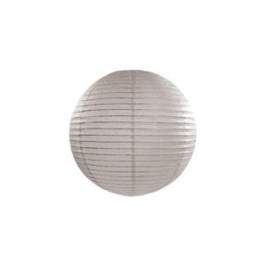 Papierlaterne · Lampion Grau · ∅ 20cm