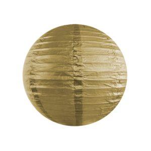 Papierlaterne · Lampion Gold · ∅ 35cm