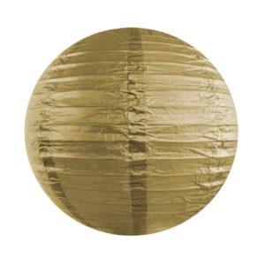 Papierlaterne · Lampion Gold · ∅ 45cm
