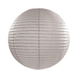 Papierlaterne · Lampion Grau · ∅ 45cm
