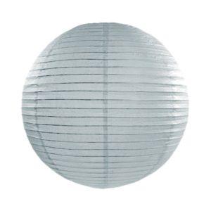 Papierlaterne · Lampion Silbergrau · ∅ 45cm