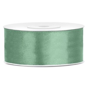 Satinband Grün 25mm · 25 Meter