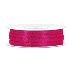 Satinband Pink 3mm · 50 Meter