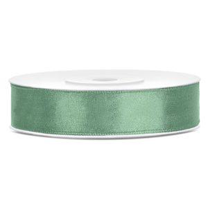Satinband Grün 12mm · 25 Meter