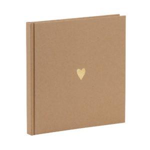 "Gästebuch · Kraftpapier ""Pure Love"""