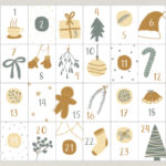 "Adventskalender Karten ""Cozy Winter"""