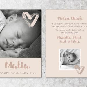 Geburtskarte_Malia