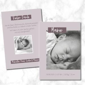 Geburtskarte_Marie