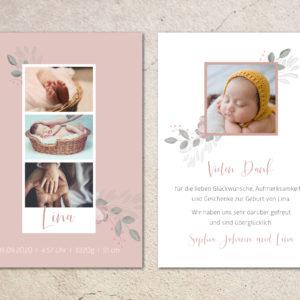 Geburtskarte_Lina