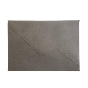 Umschlag C6 - Kraftpapier Dunkelgrau