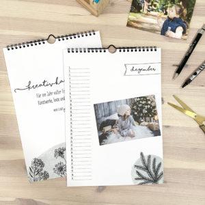 """Fotokalender immerwährend """"Floral"""""""