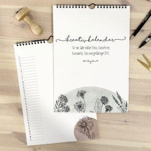 "Fotokalender immerwährend ""Floral""a"