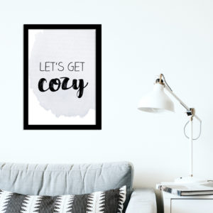 Poster - Lets get cozy