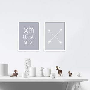 Poster-Set - Born to be wild
