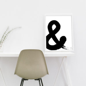 "Poster - ""&"""