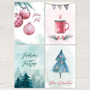 """Weihnachtsserie """"Winterzauber"""""""