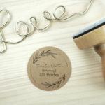 Stempel Adresse – Serie: Natural Love