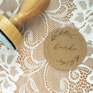 Stempel Hochzeit - Danke - Serie: Natural Love
