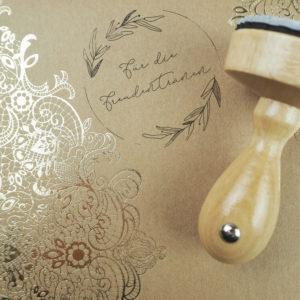 Stempel Hochzeit - Für die Freudentränen - Serie: Natural Love