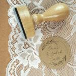 Stempel Hochzeit - Individuell mit Namen & Hochzeitsdatum - Serie: Natural Love