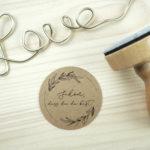 Stempel Hochzeit - Schön, dass du da bist - Serie: Natural Love
