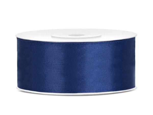 Satinband Dunkelblau 25 mm