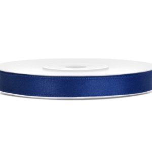 Satinband dunkelblau 6mm