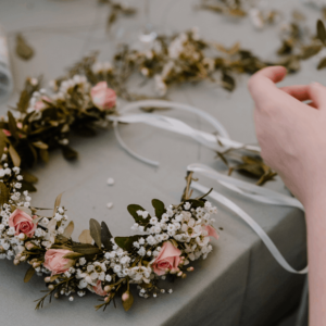 Flowercrown Workshop Junggesellenabschied